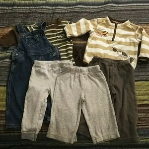 Other - Boys 6/9 month fall/winter 7 piece lot